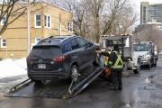 Une dizaine de véhicules ont été saisis par... (Le Soleil, Caroline Grégoire) - image 2.0