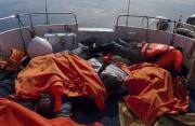 Les corps des migrants ont été récupérés puis... (Agence France-Presse) - image 2.0