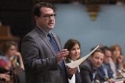 Bernard Drainville, leader parlementaire du Parti québécois... (Photothèque Le Soleil) - image 2.0