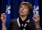Françoise David, de Québec solidaire... (Photothèque Le Soleil) - image 6.0