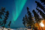 Les aurores peuvent apparaître ou disparaître sans prévenir.... (PHOTO BERNARD BRAULT, LA PRESSE) - image 6.0