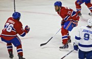Devante Smith-Pelly célèbre son but inscrit en 2e... (PHOTO ANDRÉ PICHETTE, LA PRESSE) - image 2.0