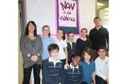Le CMI tenait une journée contre la violence... (Courtoisie) - image 1.0