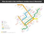 Le plan du métro tel qu'imaginé par le... (IMAGE FOURNIE PAR ELITE SINGLES) - image 2.0