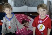 Marilie, 2 ans, et Madden, 6 ans, prennent... (Sylvain Mayer, Le Nouvelliste) - image 1.0