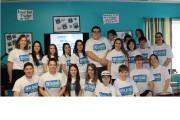 Le groupe de jeunes participants derrière ce projet... - image 1.0