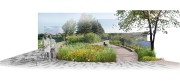 Illustration de la conversion du Complexe environnemental Saint-Michel... (Image fournie par la Ville de MOntréal) - image 1.0