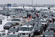 Une manifestation à l'aéroport Montréal-Trudeau.... (Archives, La Presse) - image 1.0