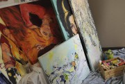 Elle rêve de peindre à... (Photo Le Progrès-Dimanche, Mariane L. St-Gelais) - image 3.0