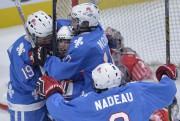 Les Nordiques ont gagné 2-1 en prolongation. Vincent... (Le Soleil, Yan Doublet) - image 2.0