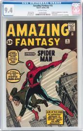 Le 15e épisode d'Amazing Fantasy, qui a présenté... (AP, Heritage Auctions) - image 1.0