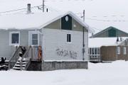 La résidence où s'est déroulé le drame, samedi... (Photo La Presse, Olivier Jean) - image 3.0