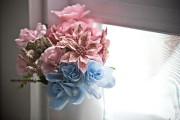 Même le bouquet de fleurs a été conçu... (PHOTO PATRICK SANFAÇON, LA PRESSE) - image 2.0