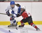 Équipe Québec Féminin a remporté une victoire de... (Le Soleil, Yan Doublet) - image 3.0