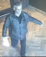 Le suspect recherché, capté par les caméras de... (Photo fournie par le SPVQ) - image 1.0
