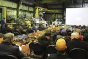 Une centaine d'entrepreneurs et représentants d'entreprises de construction... (Photo Le Quotidien, Mariane L. St-Gelais) - image 3.0