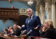 Philippe Couillard, premier ministre du Québec... (Photo Jacques Boissinot, La Presse Canadienne) - image 1.0