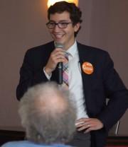 Le député de Sherbrooke Pierre-Luc Dusseault donne son... (Archives La Presse) - image 1.0