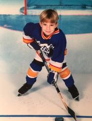 Shayne Gostisbehere à ses débuts au hockey... (Fournie par la famille) - image 2.0