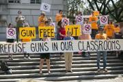 Des étudiants de l'Université du Texas ont dénoncé... (PHOTO RALPH BARRERA, ARCHIVES AP) - image 2.0