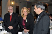 La ministre du Développement économique régional Lise Thériault... (Photo Le Quotidien, Jeannot Lévesque) - image 2.0