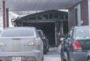Un second incendie s'est déclaré un peu avant... (Photo Le Quotidien, Michel Tremblay) - image 3.0