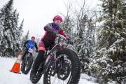 Munis d'énormes pneus à crampons, les «fat bikes»... (Olivier Croteau) - image 4.0