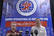Le président du Tournoi internationale de hockey pee-wee,... (Le Soleil, Patrice Laroche) - image 5.0