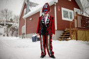 Édith Rousseau fabrique ses costumes depuis plusieurs années...... (PHOTO DAVID BOILY, LA PRESSE) - image 3.0