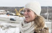 Nadège Tessier, porte-parole de Transports Québec en Estrie.... (Spectre Média, Frédéric Côté) - image 1.0