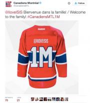 Le Canadien de Montréal a présenté des excuses... (Photo tirée de Twitter) - image 1.0