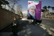 Près de 55 millions d'Iraniens sont appelés à... (PHOTO VAHID SALEMI, AP) - image 1.0