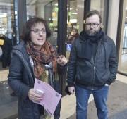 Ann Gingras, présidente du Conseil central Québec-Chaudière-Appalaches CSN,... (Le Soleil, Jean-Marie Villeneuve) - image 1.0