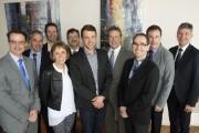 David Veilleux (au centre) est entouré sur la... (Stéphane Lessard, Le Nouvelliste) - image 4.0