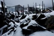 Un incendie vraisemblablement d'origine électrique a complètement ravagé... (Photo Le Quotidien, René Bouchard) - image 1.0