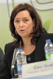 Caroline Fradet annonce qu'une grande foire de l'emploi... (Archives Le Quotidien) - image 1.0