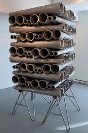 La sculpture Mirador de Ludovic Boney... (Le Soleil, Erick Labbé) - image 2.0