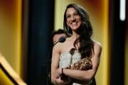 La réalisatrice franco-turque Deniz Gamze Erguven a reçu... (Photo PATRICK KOVARIK, AFP) - image 1.0