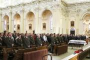Les funérailles ont été présidées par le prêtre... (Photo fournie par la Sûreté du Québec) - image 3.0