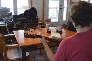 C'est assis sur cette chaise que Fred a... (Photo Le Progrès-Dimanche, Louis Potvin) - image 2.0