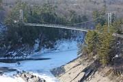 Les passerelles qui seront construites sur les rivières... (Photo courtoisie) - image 3.0