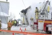 Un incendie dans un duplex a... (Photo Le Progrès-Dimanche, Michel Tremblay) - image 4.0