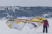 Même quand le vent tombe, les pilotes de... (Photo Le Progrès-Dimanche, Michel Tremblay) - image 2.0