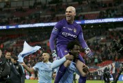Le héros de Manchester City, Willy Caballero, a... (PHOTO TIM IRELAND, AP) - image 2.0