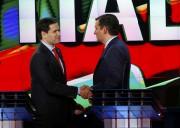 Marco Rubio et Ted Cruz lors du débat... (PHOTO REUTERS) - image 6.0
