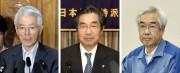 TsunehisaKatsumata, Ichiro Takekuro etSakae Muto.... (PHOTO REUTERS) - image 2.0