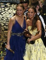 Brie Larson et Alicia Vikander ont remporté des... (PHOTO REUTERS) - image 3.0