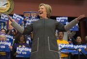 Hillary Clinton a livré un discours lundi à... (PHOTO AP) - image 2.0