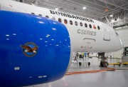 Bombardier's CS300 Aircraft, showing its Pratt & Whitney engine in... (Photo archives Reuters) - image 1.0