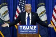 Donald Trump s'adresse à ses partisans lors d'un... (AP, John Bazemore) - image 2.0